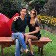 Cesar Tralli, marido de Ticiane Pinheiro e padrasto de Rafa Justus, ensinou a menina a andar de bicicleta sem rodinha