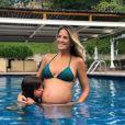 Ticiane Pinheiro está grávida de Manuella, sua primeira filha com Cesar Tralli