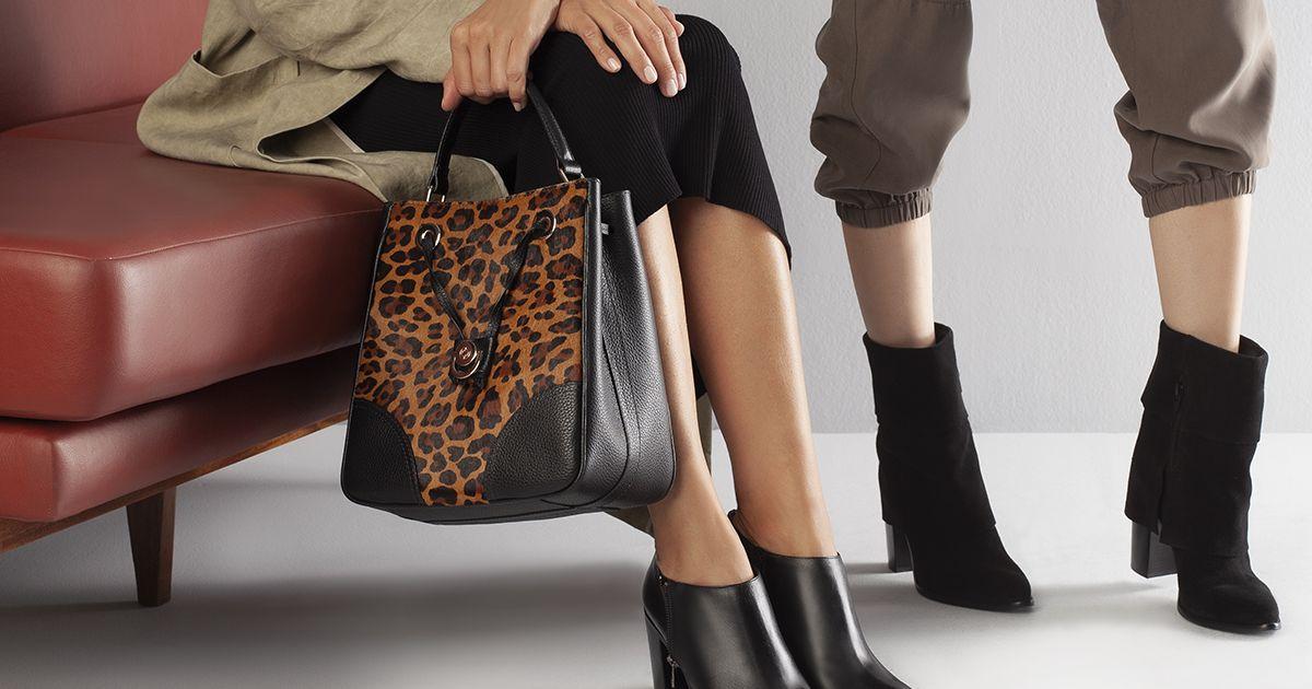 c2fa2afe5 Moda de inverno: bolsa e sapato animal print garantem um look fashion. Saiba  usar! - Purepeople