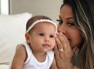 Mayra Cardi cochicha no ouvido da filha e encanta Andressa Suita: 'Morri'. Foto!
