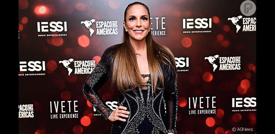 Ivete Sangalo apresentou repertório da turnê Live Experience na Zona Oeste de São Paulo nesta sexta-feira, 26 de abril de 2019