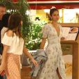 Bruna Marquezine usa vestido da marca de nova-iorquina, Love Shack Fancy