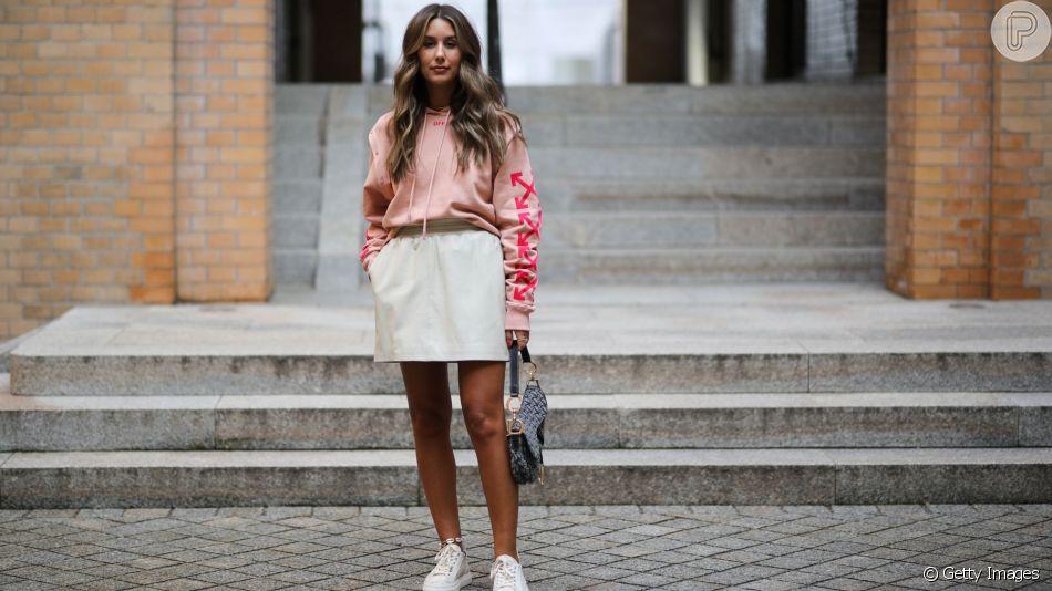 O casaco de moletom compõe um look fashion no inverno. Confira as dicas!
