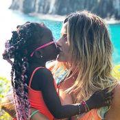 Giovanna Ewbank passou vergonha com filha, Titi, e Gagliasso em avião. Vídeo!