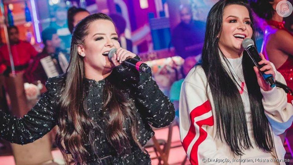 Maiara e Maraisa apostam em trends em looks de show em Campo Grande, no Mato Grosso do Sul