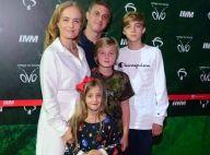 Luciano Huck posta foto de Angélica com filhos em homenagem: 'Melhor do mundo'