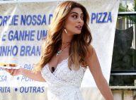 Superfenda e mix de renda! Look de Juliana Paes chama atenção em padaria no Rio