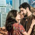 Jamil (Renato Góes) e Laila (Julia Dalavia) vão garantir que confiam em Dalila/Basma (Alice Wegmann) após o aviso na novela 'Órfãos da Terra'.