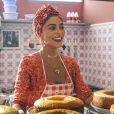 Maria da Paz (Juliana Paes) inaugurará primeira loja de bolos na novela 'A Dona do Pedaço'