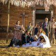 Mesmo com pacto de paz, família de Maria da Paz (Juliana Paes) atira em Amadeu (Marcos Palmeira) na novela 'A Dona do Pedaço'