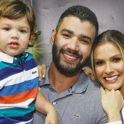 Andressa Suita e o filho Gabriel cantam música infantil: 'Enquanto não dorme'