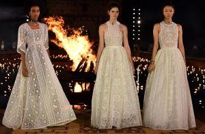 O guia da noiva descolada: looks que vão muito além do vestido longo