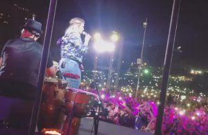 Da coxia! Namorado acompanha Marilia Mendonça em show gratuito no DF. Vídeo!