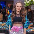 Larissa Manoela prestigiou aniversário da atriz Bia Jordão em buffet de São Paulo