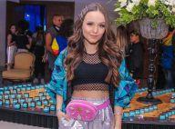Estilo street: Larissa Manoela elege visual com trends para festa de amiga