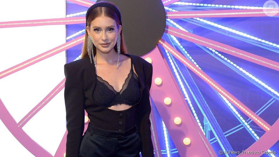 Marina Ruy Barbosa dança coreografia de música hit de Anitta em restaurante nesta quinta-feira, dia 06 de junho de 2019