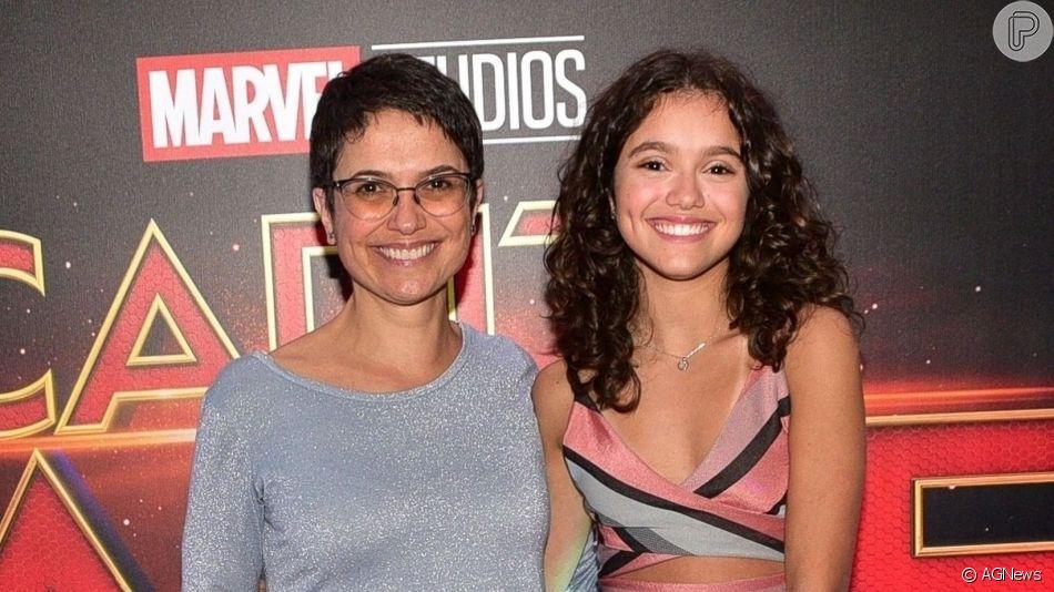 Sandra Annenberg chamou atenção pela semelhança com a filha, Elisa
