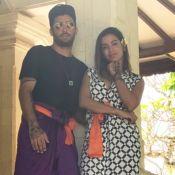 Corpão! Anitta malha de biquíni e Pedro Scooby brinca: 'Tô sem vista'