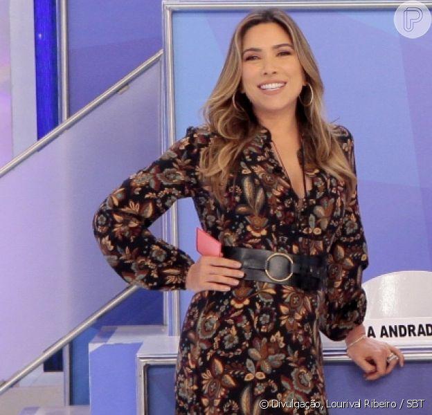 Patricia Abravanel falou sobre a família no 'Jogo dos Pontinhos' neste domingo, 9 de junho de 2019