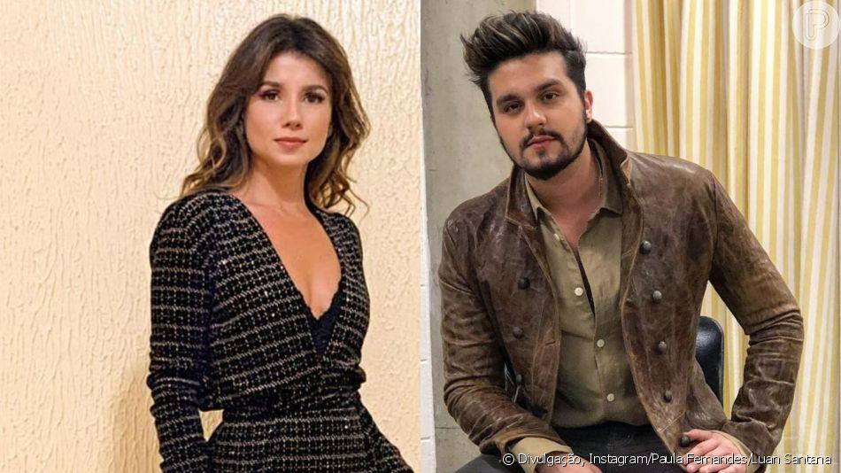 Luan Santana cancela participação em DVD de Paula Fernandes e cantora lamenta em vídeo no Instagram nesta segunda-feira, dia 10 de junho de 2019