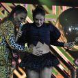 Claudia Leitte recebe carinho de Ivete Sangalo