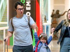 Iguais! Gabriel Braga Nunes chama atenção por semelhança com a filha de 5 anos