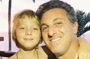 Luciano Huck fala sobre estado de saúde do filho: 'É um passinho de cada vez'