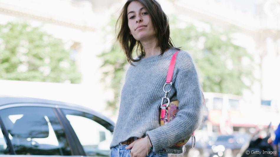 Calça jeans reta é o modelo da vez