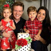 Thais Fersoza vê traços de sua personalidade em Melinda: 'Teodoro é mais o pai'
