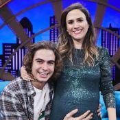 Tatá Werneck vê semelhança entre Rafael Vitti e a filha em ultrassom: 'Nariz'