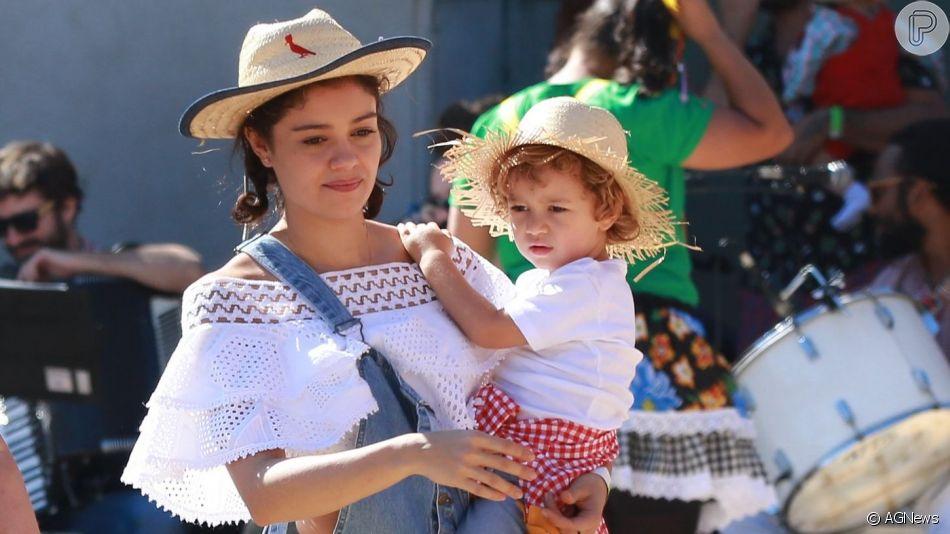 Sophie Charlotte impressiona por semelhança com a filho, Otto, em 29 de junho de 2019