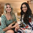 Karina Bacchi contou que casamento com publicitário Sérgio Amon acabou meses antes de anunciar a gravidez de Enrico, fruto de uma produção independente