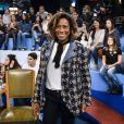 Gloria Maria relembrou momentos da carreira no programa 'Altas Horas'