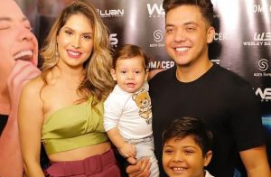 Show de Wesley Safadão é marcado por apresentação especial da filha do cantor