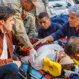 Cláudio (José Mayer) e Enrico (Joaquim Lopes) se encontram e vêem Beatriz (Suzy Rêgo) sendo levada ao hospital