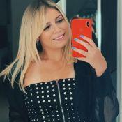Look all black de Marilia Mendonça marca barriga de gravidez: 'Bebê gordinho'