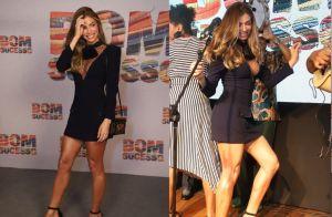 Look Givenchy e samba no pé: Grazi Massafera brilha ao lançar 'Bom Sucesso'