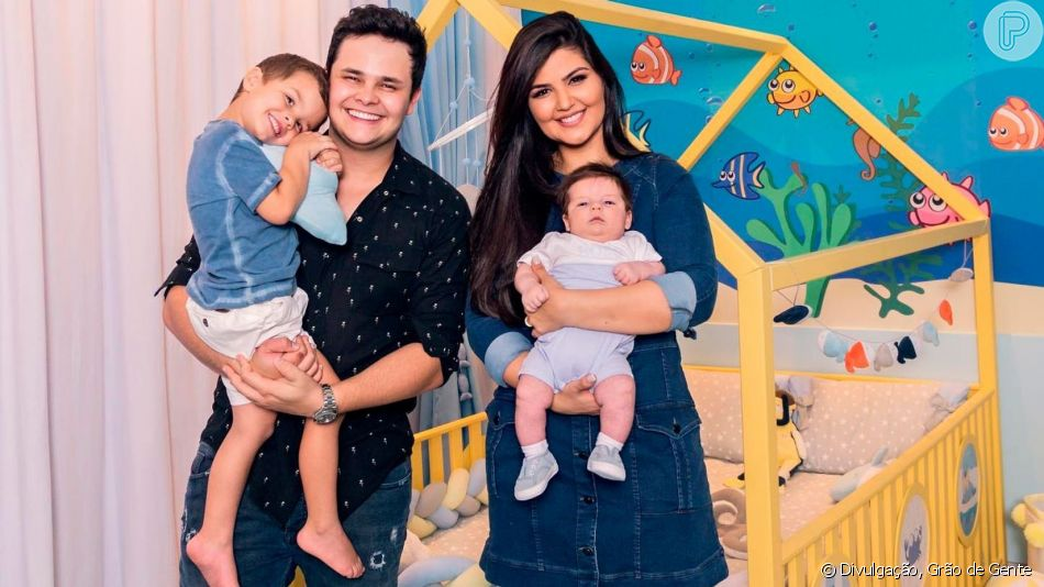 Filho de Matheus e Paula Aires, Davi ganhou festa de aniversário pelos 4 anos
