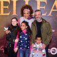 A cantora Luciana Mello foi com o marido, Ike Levy, e os filhos, Nina e Tony, à pré-estreia do filme 'O Rei Leão'