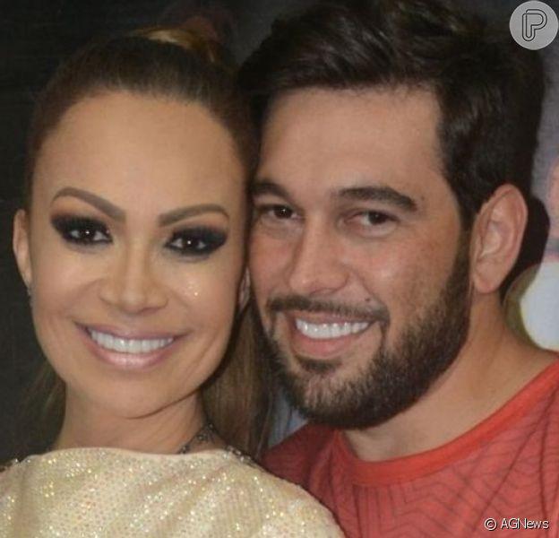 Solange Almeida comemora dois anos de casamento com o empresário Leandro Andriani: 'Muito amor e companheirismo'