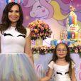 Solange Almeida é mãe da pequena Maria Esther