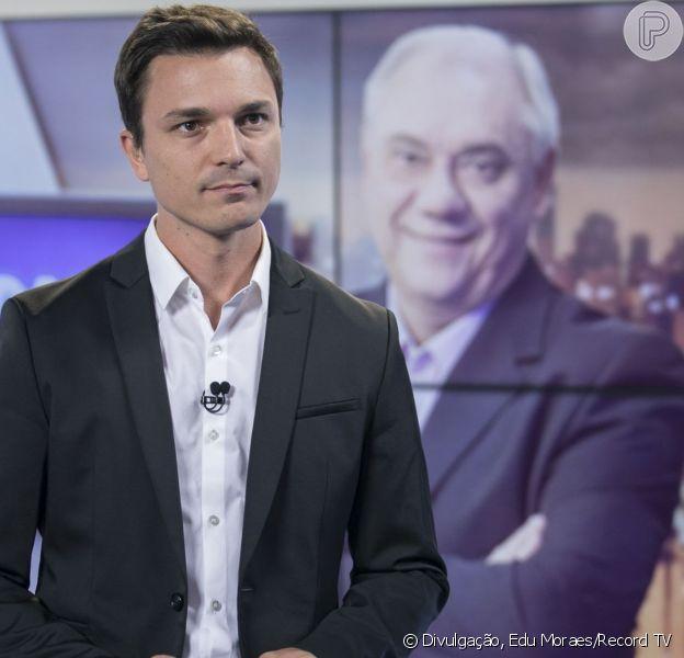 Filho de Marcelo Rezende, Diego Esteves foi comparado ao pai após envelhecer rosto em aplicativo