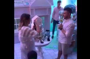 Mãe de menino! Grávida, Marília Mendonça anuncia nome do bebê em festa: 'Léo'
