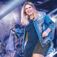 Marília Mendonça revela nome do filho com Murilo Huff: 'Léo'