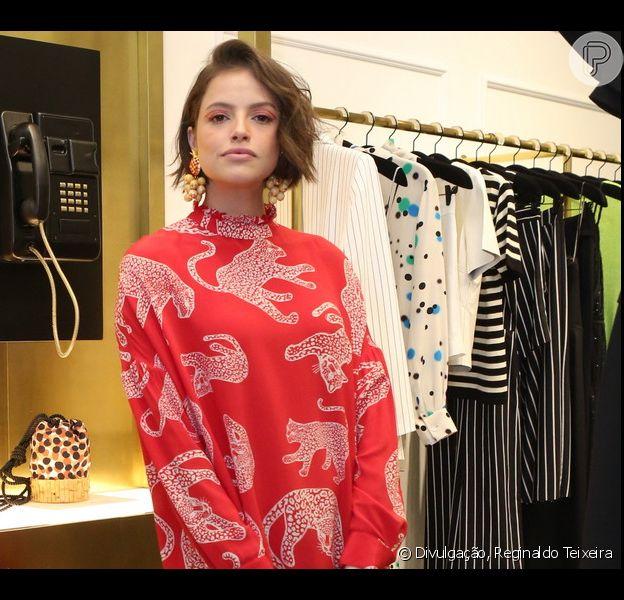 Agatha Moreira, Nanda Costa, Fernanda Rodrigues e mais famosas se reúnem no lançamento da nova loja da marca Eva no Village Mall, Barra da Tijuca, no Rio de Janeiro, nesta quarta-feira, 24 de julho de 2019