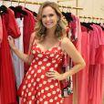 Fernanda Rodrigues prestigia lançamento da nova loja da marca  Eva no Village Mall, Barra da Tijuca, no Rio de Janeiro, nesta quarta-feira, 24 de julho de 2019