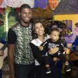Benedita Casé é casada com João Pedro Januário e mãe do pequeno, de 1 ano