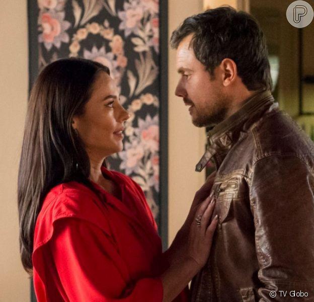 Chiclete (Sergio Guizé) terá um ataque de ciúmes com o cantor Luan Santana na novela 'A Dona do Pedaço'