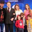 Patricia Abravanel foi ironizada pelo pai, Silvio Santos, ao mostrar sua admiração por Neymar