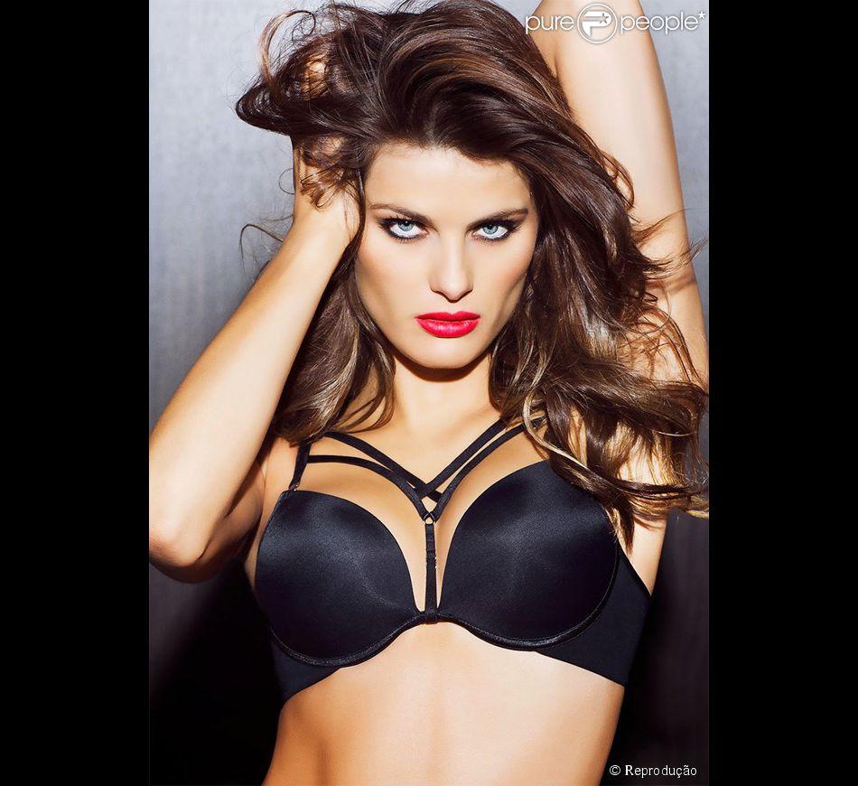 135c2b08a Isabelli Fontana posa sexy de lingerie em ensaio fotográfico para grife  espanhola de underwear Leonisa